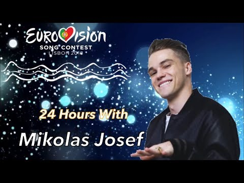24 Hours With Mikolas Josef From Czech Republic (Instagram Story)  Eurovision Song Contest 2018