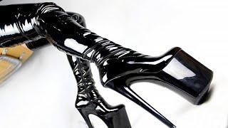 [ASMR] Leather Heel Boots Walking Sounds | No Talking 4K Video