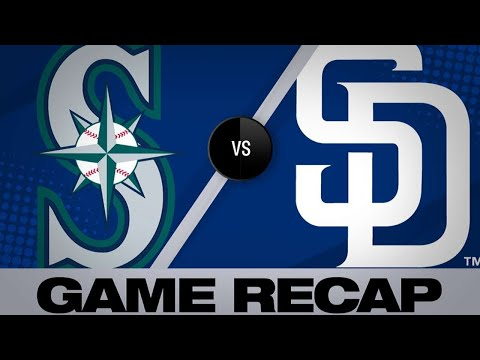 4/23/19: Reyes' 2 HRs lead Padres to win