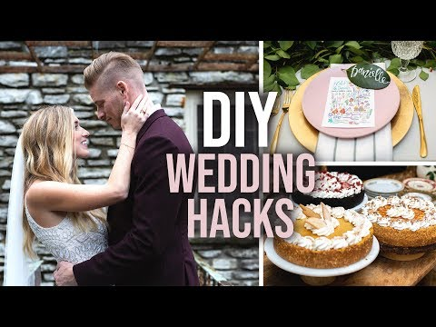 12 Tips and Hacks for DIY Weddings on a Budget