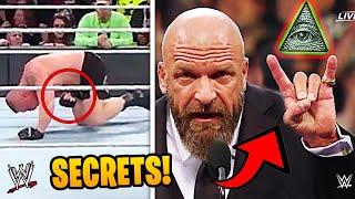 The DARKEST Secrets In WWE Wrestling History!