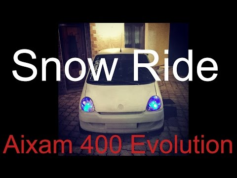Snow Ride - Aixam 400 Evo