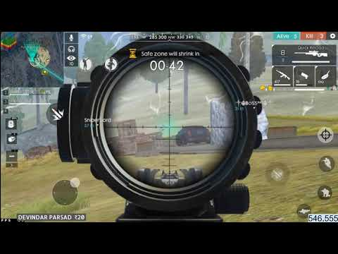 SPEED AWM LOL SHOTS |GIVEN BOYAHH! TO SUBSCRIBER BHAI | GARENA FREE FIRE HEART TOUCHING MOMENT