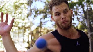 Blake Griffin Cross-Trains with Handball Legend Timbo Gonzalez | The Crossover: Part 1