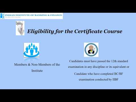 IIBF presents Certificate Course on Anti- Money Laundering & Know ...