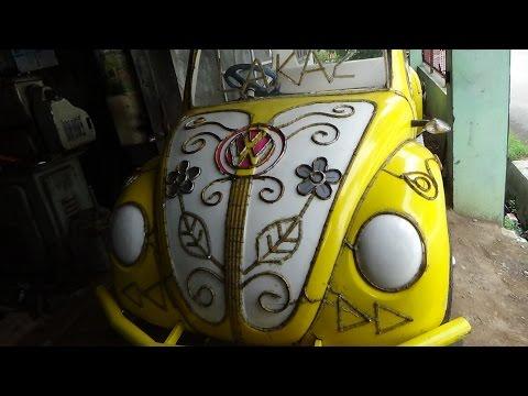 Video Odong Odong Mobil Gowes Modifikasi Mesin Sepeda Motor Karya Wong Tegal