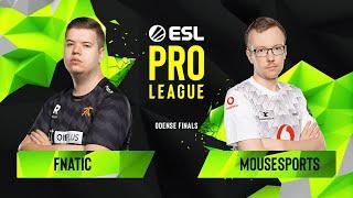 CS:GO - Fnatic vs. mousesports [Inferno] Map 1 - Grand Final - ESL Pro League Season 10 Finals