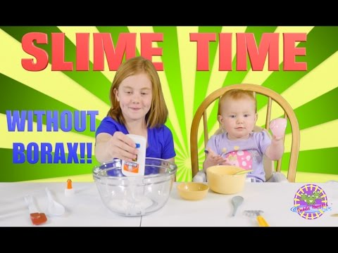 Video BEST Kid friendly Slime! (BORAX FREE)  Fast, Easy, SAFE ~ DIY