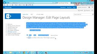 SharePoint Tutorial | Custom Page Layout