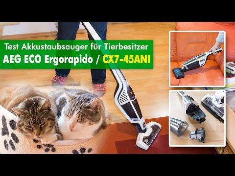 AEG CX7 Animal Test ( CX7-45ANI) - Was leistet der Akkustaubsauger für Tierbesitzer?