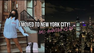 I MOVED TO NEW YORK CITY! nyc moving vlog