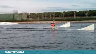 preview picture of video 'Andrés Araya - Olimpic Wakeboard Cable Park Castelldefels'