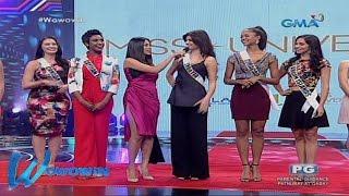 Wowowin: Miss Universe 2016 candidates, bumisita sa 'Wowowin'