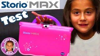 STORIO MAX LERNTABLET Test & Vorstellung | Spiel, Spaß und Lernen | CuteBabyMiley Mileys Welt