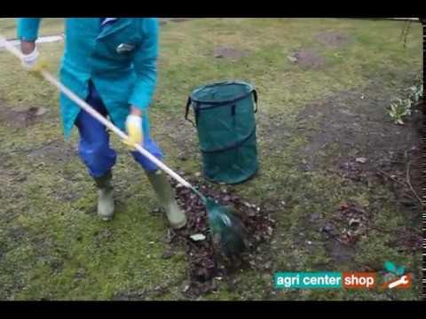Raccogliere le foglie con Scopa Foglie Verniciata - agricentershop.it