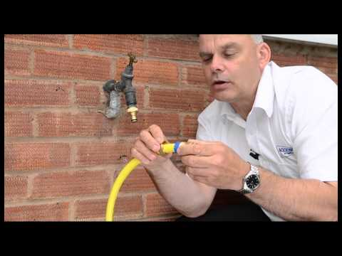 Brass tap fittings hose connections