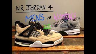 Wear TEST - Nike Air Jordan 4 - [Mens Vs. Womens]: Wearing Women's Kicks, Worth It??? 🤔
