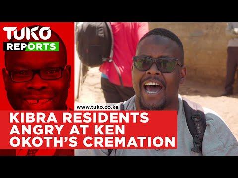 Majority of Kibera residents angry at Ken Okoth's cremation | Tuko TV