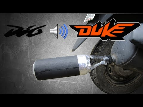 Dio Sounds Like Duke | Homemade Exhaust | DIY !!