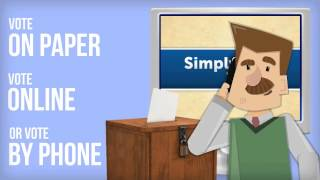 Simply Voting video