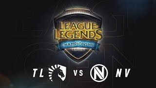 TL vs. NV - Week 7 Game 1   NA LCS Summer Split   Team Liquid vs. Team Envy (2017)