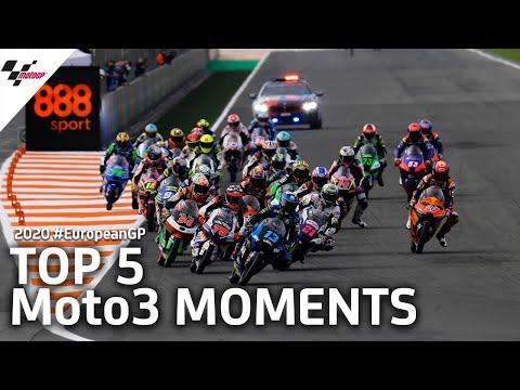 MotoGP ヨーロッパGP Moto3決勝レースのダイジェスト動画