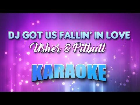 Usher & Pitbull - DJ Got Us Fallin' In Love (Karaoke version with Lyrics)