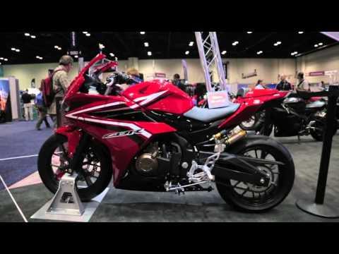 2016 Honda CBR500R - AIMExpo 2015