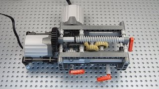 DIY 36 teeth LEGO differential - hmong video