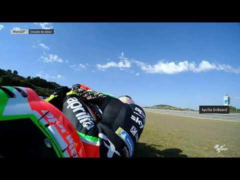Aprilia Racing Team Gresini OnBoard: Gran Premio Red Bull de España