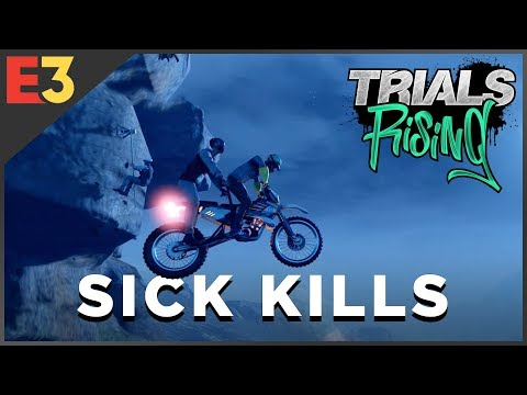 Trials Rising DEATH REEL: Motorcycle Mayhem   Polygon @ E3 2018