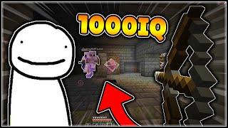 Dream Best Moments - 1000 IQ Plays (Minecraft Manhunt)