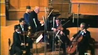 Sviatoslav Richter and the Borodin Quartet play Shostakovich Piano Quintet  in g, op. 57