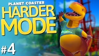 Planet Coaster | Harder Mode | Part 4