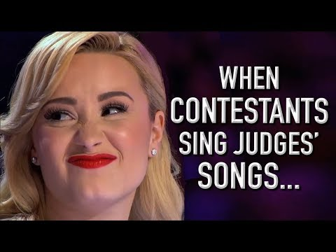 When Contestants Audition With Judges' Songs! | X Factor Global