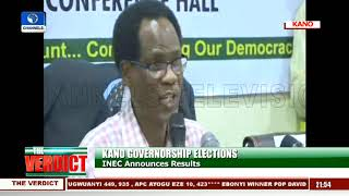 INEC Declares Kano Governorship Election Inconclusive