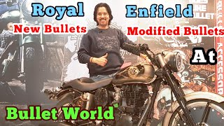 Bullet World   New Royal Enfield Modification   Pre Owned Sale Purchase   Royal Bullet