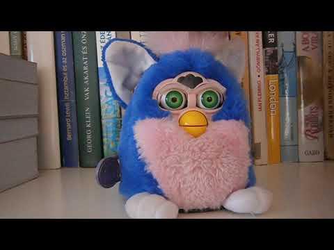 Furby Babies Furby Baby baba Interaktív kisbarát 1999-ből eredeti dobozában hibátlanul működik! Kép