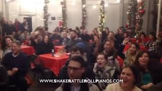 Shake Rattle & Roll Dueling Pianos - Video of the Week - NY Botanical Gardens BAR CAR NIGHTS!