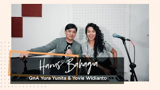 Gambar cover YURA YUNITA - Harus Bahagia QnA with Yovie Widianto