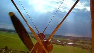 preview picture of video 'Vintage Flying: Tiger Moth G-AOJJ Landing White Waltham'