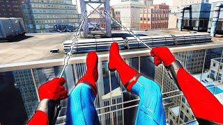 Я СТАЛ ЧЕЛОВЕКОМ ПАУКОМ? Володя в Человек Паук Вдали от Дома на PS4 Прохождение Spider Man VR ПС4