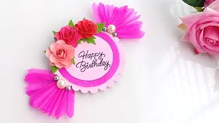 How To Make Candy 🍬 Birthday Card//Handmade Birthday Card