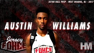 Austin Williams is a MAJOR SLEEPER! '17 Jersey Guard Summer Highlights!