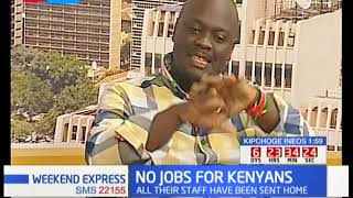 Who is to blame for the lack of job opportunities in Kenya?
