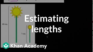 Estimating Lengths | Measurement And Data | Early Math | Khan Academy