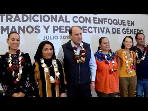 Encuentro Regional de Medicina Tradicional con Enfoque en Derechos Humanos y Perspectiva de Género