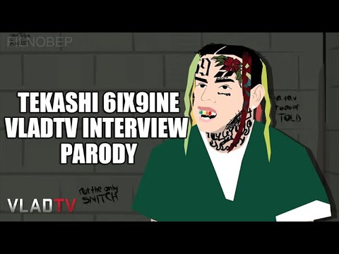 Tekashi 6ix9ine Does VladTV Jail Interview (Parody)