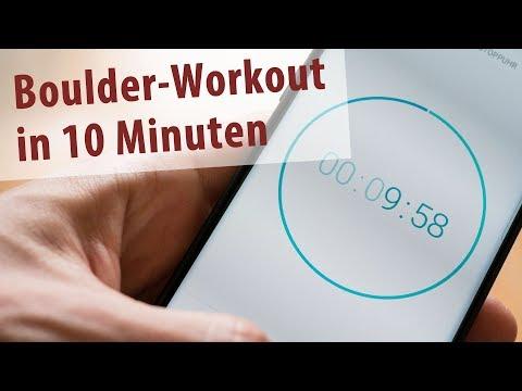 Mehr Kraft fürs Klettern und Bouldern in 10 Minuten