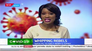 Whipping rebels: Political intrigues in the NASA coalition and Jubilee party